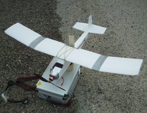 Il Polycone. Un aereo trainer in polistirolo