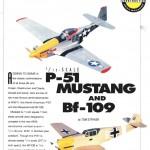 Progetto Mustang P-51 e BF-109