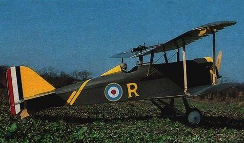 Disegno Royal Aircraft Factory S.E.5
