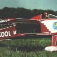 Ecco il disegno del Kool Kanary. Il Kool Kanary è una libera interpretazione di un biplano per le corse al pilone americane, l'Hot Canary.
