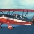 Bellissima riproduzione di un biplano: il Liberty Sport B