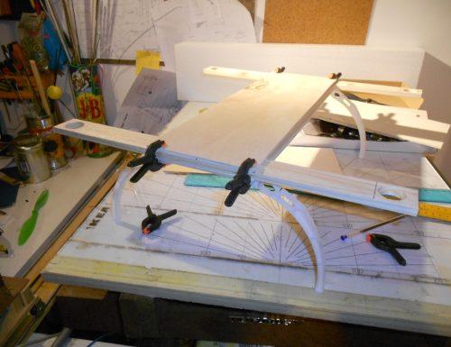 Costruzione drone per riprese aeree