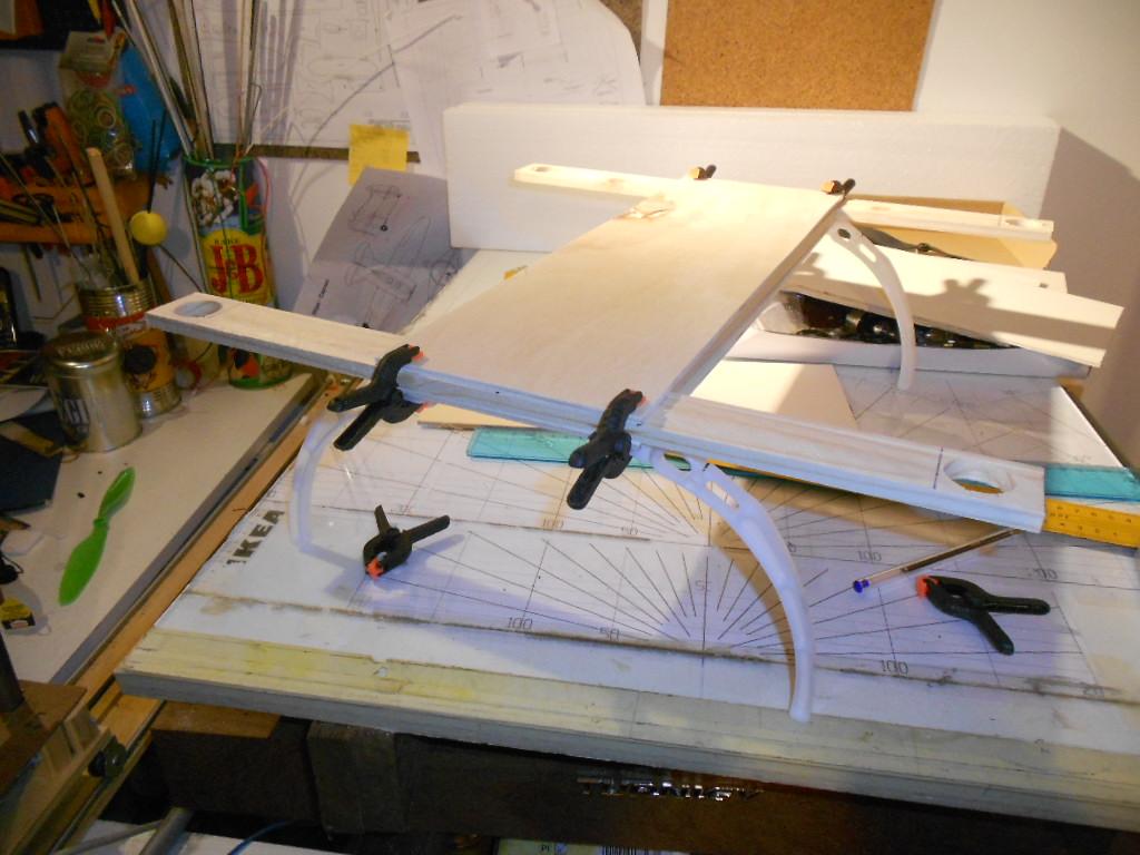 Assemblaggio drone