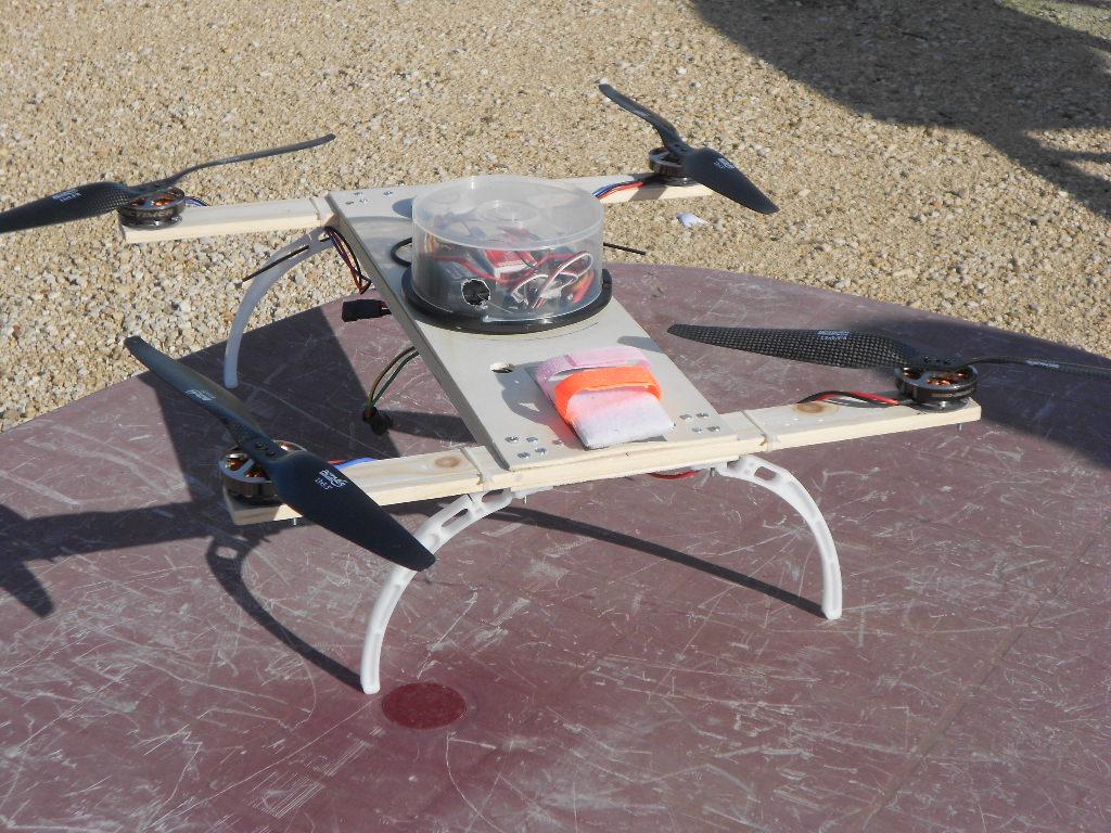 Drone per riprese aeree con frame H