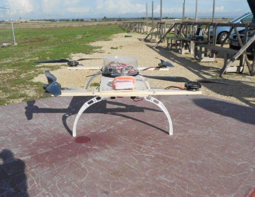 Costruzione drone per riprese aeree: il collaudo