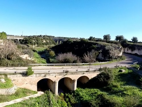 Riprese aeree della Gravina di Triglie – Statte (Taranto)