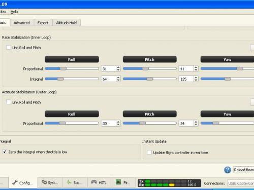 Eachine Racer 250: flashing CC3D to LibrePilot firmware
