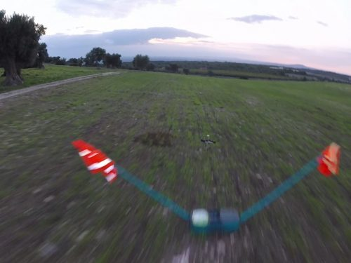 """Eachine Racer 250 : Pid used in video """"race into trees"""""""