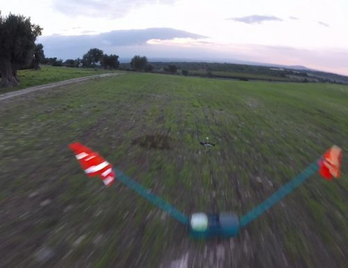 "Eachine Racer 250 : Pid used in video ""race into trees"""