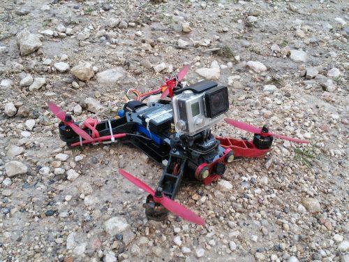 Ho to mount GoPro on Eachine Racer 250