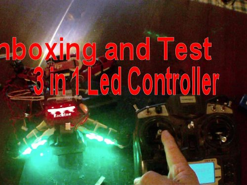Multifunction More Than One Light Control Low Voltage/Runaway/Missing Alarm Board For FVP Racing Multicopter