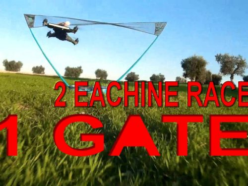 "Eachine Racer 250 : EasyTune PID used in video ""TWO Eachine Racer 250 for ONE Air Gate"""