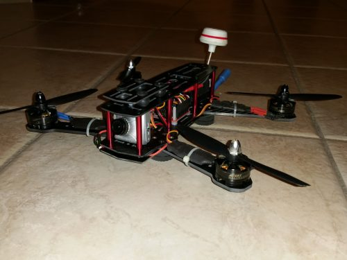 Build-log FPV Multirotor Racer – Quadricottero per FPV Multirotor Racing