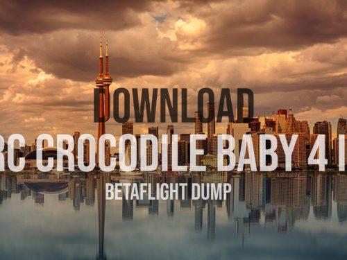 GEPRC Crocodile baby 4 inch betaflight dump